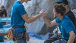Adam Ondra, Stefano Ghisolfi and the special sense of climbing at the Arco Champions Challenge