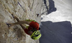 Pressknödl, new route on the Cima Ovest di Lavaredo by Christoph Hainz and Kurt Astner