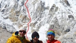 Pumori Southeast Face climbed via new Romanian route