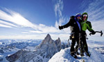 Torre Egger Patagonia, first winter ascent by Siegrist, Arnold and Senf
