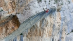 Chris Sharma Psicobloc a Mont-Rebei in Spagna