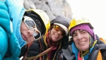 Mugu Peaks in Nepal, new route climbed by Anna Torretta, Cecilia Buil, Ixchel Foord