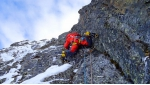 Simon Gietl and Vittorio Messini forge new mixed climb up Mt Prijakt in Austria