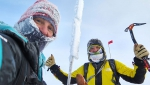 Simone Moro, Tamara Lunger and the first winter ascent of Pik Pobeda in Siberia