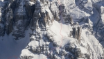 Dolomites steep skiing: big first ski descent of Croda Marcora SW Face