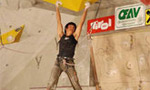 David Lama and Angela Eiter win first stage of the Climbing Worldcup Lead 2007 in Imst