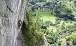 Arrampicare a Gressoney - Noversch