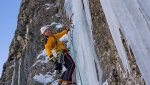 Airport, possible new ice climb in Langental, Dolomites, by Daniel Ladurner, Hannes Lemayr