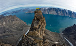 Eventyr, new route in Greenland for Gietl, Kopp, Schäli and Ulrich