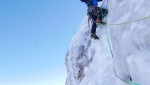 Cima Brenta, Alessandro Beber and Matteo Faletti establish big new Dolomites winter climb
