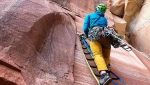 New Zion aid route climbed by Paul Gagner, Ryan Kempf