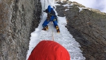 Aiguille Rouges de Rochefort: Trento, Farina, Majori establish new climb in Mont Blanc massif