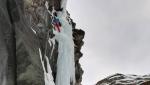 Necho e la Luna, nuova cascata di ghiaccio in Valle del Lys di Umberto Bado e Amedeo Giobbio