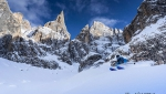 Arc'teryx King of Dolomites 2019 frreeride photo contest in Pale di San Martino