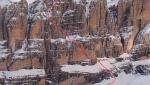 Cima Mandron in Dolomiti di Brenta, prima discesa per Roberto e Luca Dallavalle
