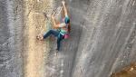 Anna Stöhr climbs her hardest at Arco, Italy