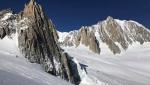 La Vierge du Flambeau in Mont Blanc massif / Miss Go by Ezio Marlier