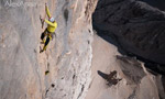 AlexAnna, Punta Penia, Marmolada: first free ascent by Rolando Larcher