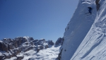 Another Brenta Dolomites big line skied by Roberto and Luca Dallavalle