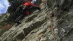 Leone di Nemea sul Monte Cordespino in Val d'Adige