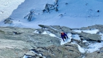 Aiguilles Marbrées: new mixed climb Mtbness in Mont Blanc massif