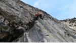 Zombie, nuova via d'arrampicata a Padaro, Valle del Sarca