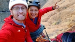 Taghia Gorge: Moroccan Honey Moon climb established by Iker Pou, Neus Colom