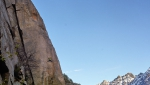 Orco Valley: Silvan Schüpbach climbs new trad variation up Torre di Aimonin