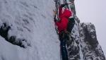 Bischofsmütze North Face, new mixed climb established by Vittorio Messini, Matthias Wurzer, Hans Zlöbl