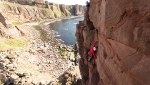 Jesse Dufton and his extraordinary ascent of The Old Man of Hoy in Scotland