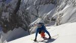 Gran Vernel Parete Nord Est, discese da sogno in Dolomiti