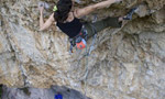 Josune Bereziartu climbs Powerade, 8c+ at Vadiello