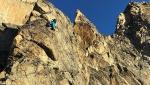 Aiguille Noire, Pilastro Rosso del Brouillard e Monte Bianco. L'Integrale 2.0