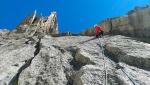 Gendarme du Cardinal / New rock climb in Mont Blanc massif