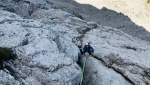 Laserz North Face, 80-year-old Lienz Dolomites Direttissima climbed by 70-year-old