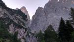 Via quota 100 alla Pala di San Bartolomeo in Dolomiti
