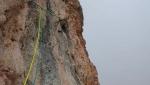 Simon Messner and Barbara Vigl snap up their Ice Age on Punta del Pin, Dolomites