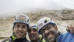 New Tre Cime di Lavaredo Dolomites rock climb by Alessandro Baù, Claudio Migliorini, Nicola Tondini