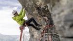 Eiger North Face Meltdown established rope solo by Robert Jasper