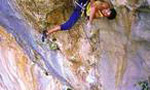 Pietro Dal Pra', first free ascent of Hotel Supramonte