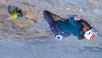 Nina Caprez, Sean Villanueva, Roger Schäli climb Eiger Merci La Vie