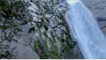 Toru Nakajima makes free solo ascent of Shomyo Falls in Japan