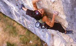Josune Bereziartu, interview after Noia 8c+ at Andonno