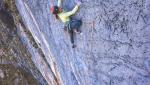 Charlotte Durif, Josh Larson soar up Vuelo del Condor up Kuntur Sayana in Peru