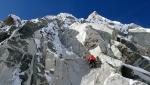 Ancora nuove vie di misto moderno sul Grand Flambeau, Monte Bianco