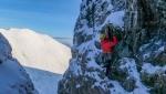 Esordio della stagione d'arrampicata invernale in Scozia con Boswell e Robertson