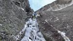 Natascha Knecht, Marcel Schenk uncover new mixed climb deep in Switzerland's Val Bregaglia