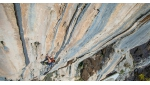 Sébastien Bouin delights in The Dream 9b, the most difficult sports climb in Albania