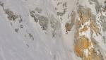 Enfant (Terrible), new ski descent off Cima Termoncello in Brenta Dolomites