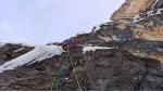 Iron Man, la nuova via di misto al Passo Gardena nelle Dolomiti